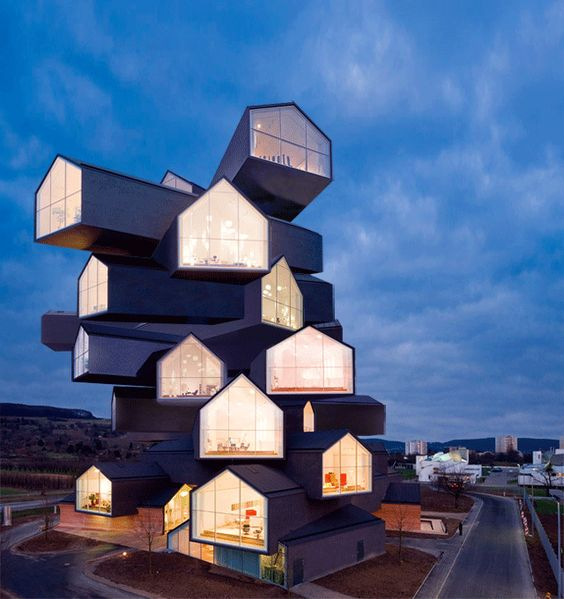 Awesome Architecture GIFs Channel Tetris And Bend Reality | The Creators Project
