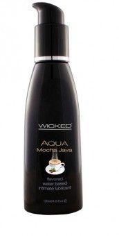 Lubrifiant Comestible Aqua #Mocha Java - Gel #Lubrifiant Parfumé