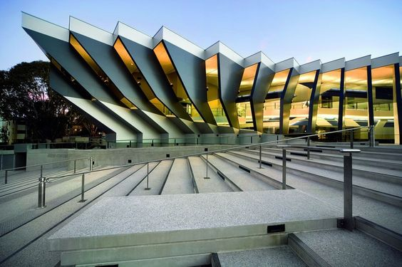John Curtin School of Medical Research, Canberra, Australia by Lyons Architecture.