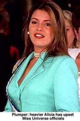 Alicia Machado Weight