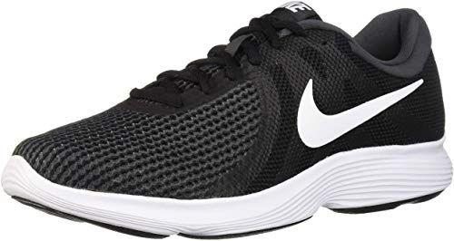 Amazing Offer On Nike Men S Revolution 4 Running Shoe Black White