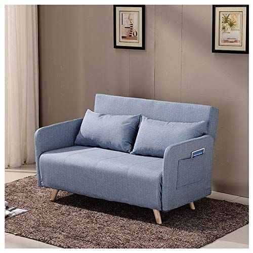 Hongteng Multi Function Lazy Couch Dual Use Sofa Bed Foldable