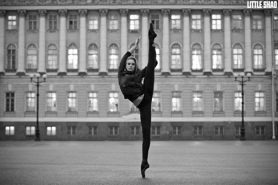 Russian Ballerina Hit The Sky