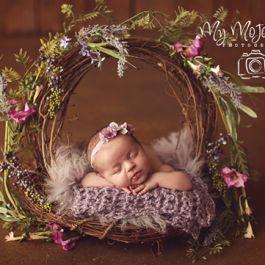 Newborn Photography, Newborn Prop, Newborn Posing