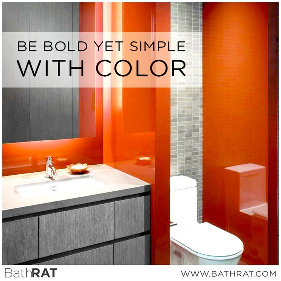 Bold colors and textures can actually make a small space feel larger.