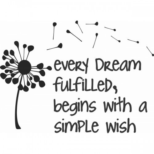 "Wish Quotes Tattoo Ideas & Inspiration  Quotes & Sayings  ""every Dream"