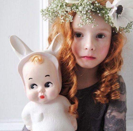 Lampe Babyhase Weiss Lapin & Me