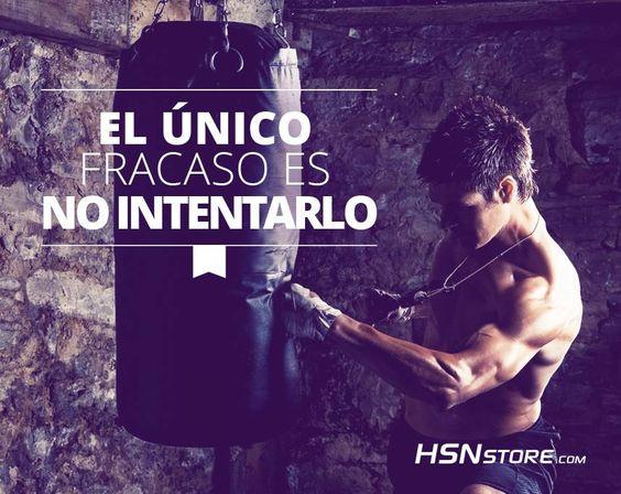El único fracaso es no intentarlo. #fitness #motivation #motivacion #gym…
