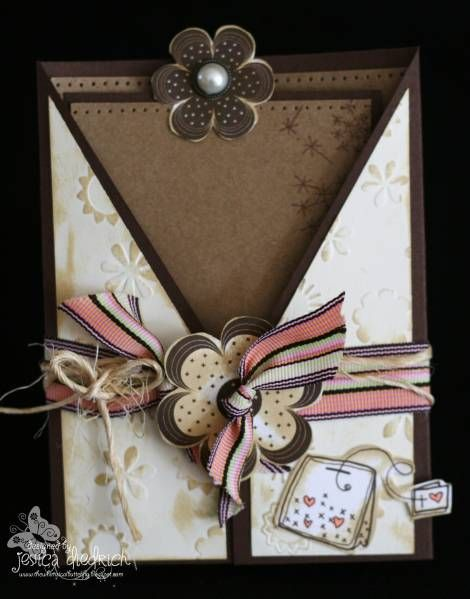 A cup of tea with unity by pinkgirl76 cards and for Cross in my pocket craft