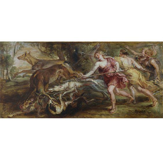 Diana y sus ninfas cazando Pedro Pablo Rubens 1636 - 1637