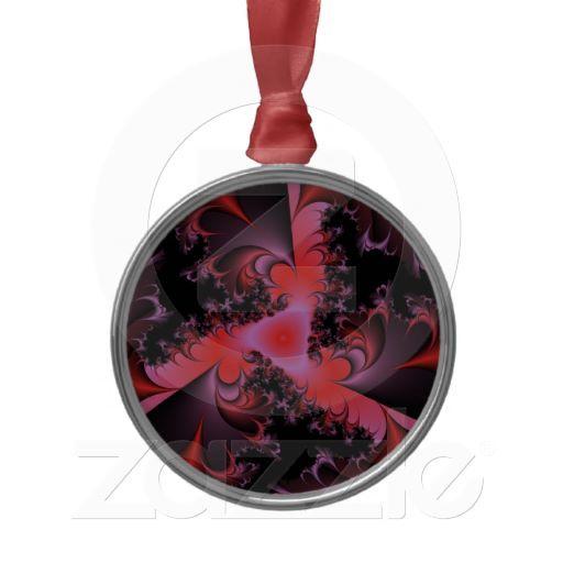 Simphonie in Red Weihnachtsbaum Ornament