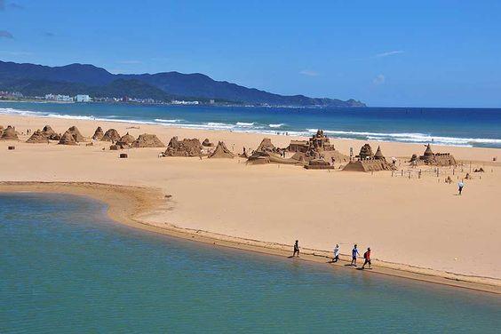 Cuộc thi đắp cát được tổ chức hàng năm