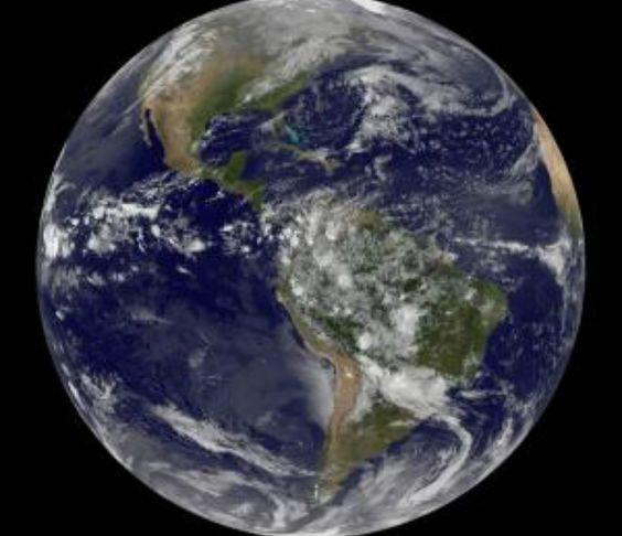 Dia da Terra: Satélite da Nasa captura imagem das Américas | #DiaDaTerra, #MudançasClimáticas, #NASA, #SatéliteGeoestacionárioNOAA