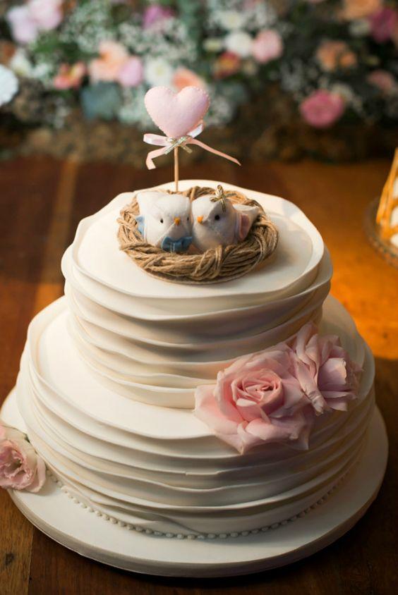 A fofura e delicadeza em forma de bolo!: