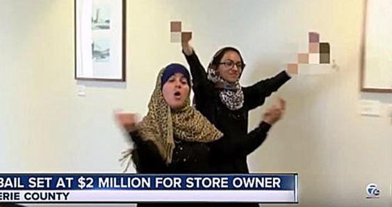 """A Muslim wife and daughter in Buffalo, New York, shouted, """"F— America!"""" and…"""