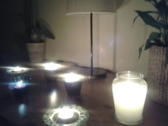 Candles.......on
