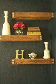 The Haringsma House: Why Buy?! DIY!!! {Rustic/Industrial Floating Shelves}