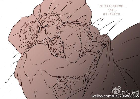 #超蝙##超蝙同人##SuperBat# #魔王與勇者AU... 来自恋_独哲 - 微博