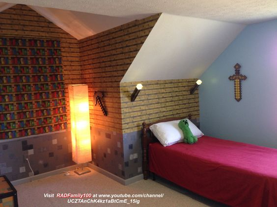 Colonial Christmas House Master Bedroom #minecraft # ... |Minecraft Mansion Inside Bedroom