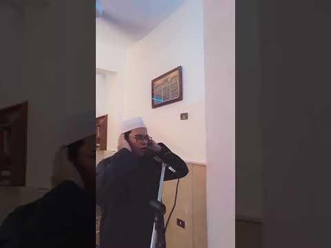 أذان الجمعة من مسجد حمزة بن عبد المطلب بصوت القارئ أحمد سيد Mirror Selfie Quran Selfie