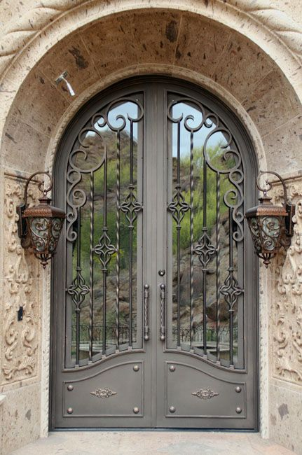 Iron Doors Design Classy Design Ideas