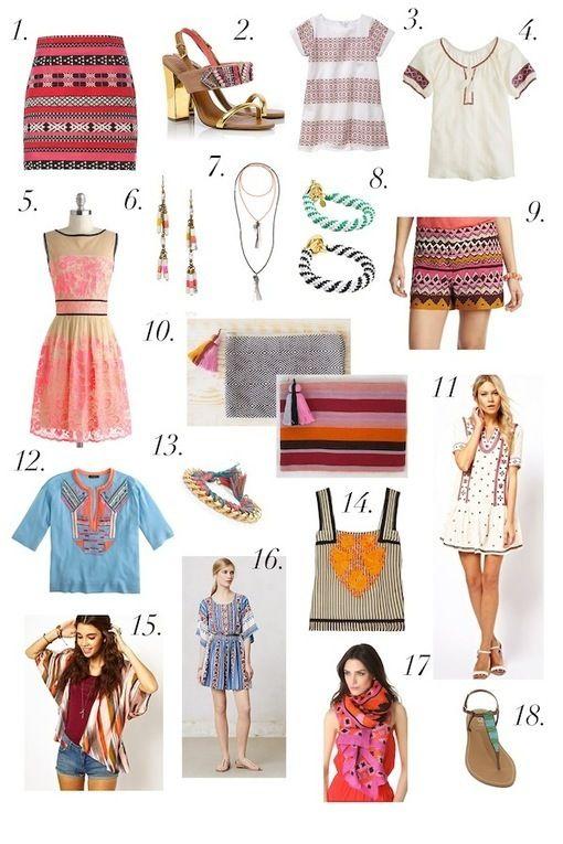 Fashion Friday: Bohemian Summer