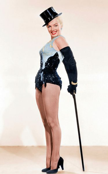 MM Gentlemen Prefer Blondes publicity shot