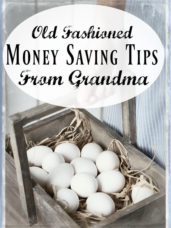 If you're struggling financially, or just trying to cut back, you may find it helpful to use some of these old fashioned money saving tips!