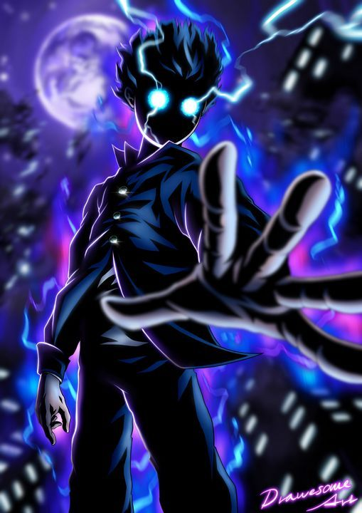 Shigeo Kageyama Mob Psycho 100 Drawesome Art Mob Psycho 100 Anime Mob Psycho 100 Wallpaper Mob Psycho 100