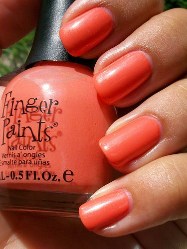 Finger Paints Ripe Peach | Flickr - Photo Sharing!