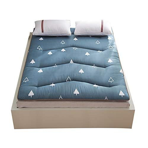 Wanggang Non Slip Bed Pad Twin Single Full Mattress Cover Soft Mattress Topper Breathable Anti Bacteria Foldable Soft Mattress Bed Pads Foldable Bed
