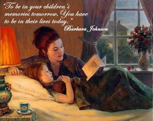 motherreading to her daughter, spending time, quality time, character-building books