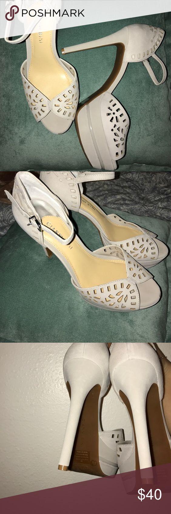Giani Bini Heels. Giani Bini heels in silver New Never Worn Giani Bini Shoes Heels