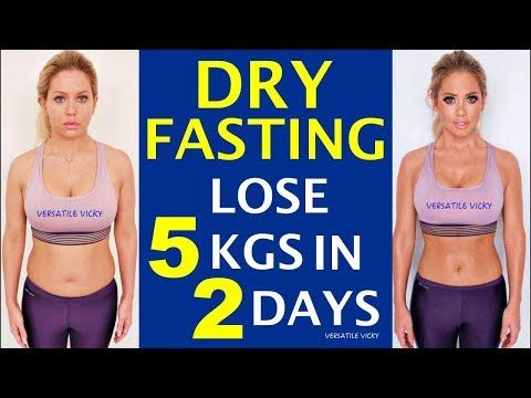 how fast do you lose weight by fasting