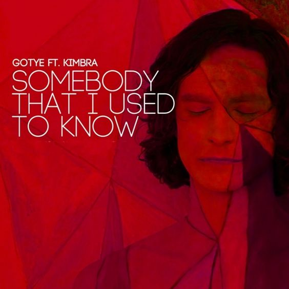 Gotye, Kimbra – Somebody That I Used to Know (single cover art)