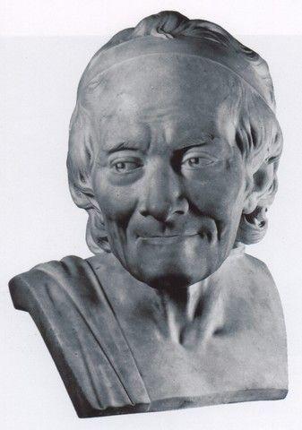 314. (Jean-Antoine Houdon) Voltaire [1781]