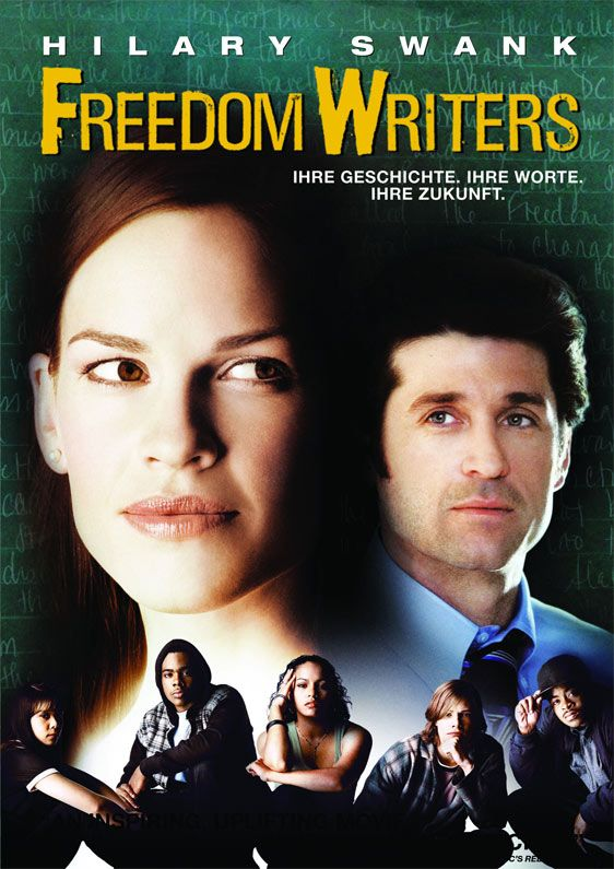 Freedom Writers 2007 Best Inspirational Movie Of All Time Freedom Writers Freedom Writers Movie Inspirational Movies