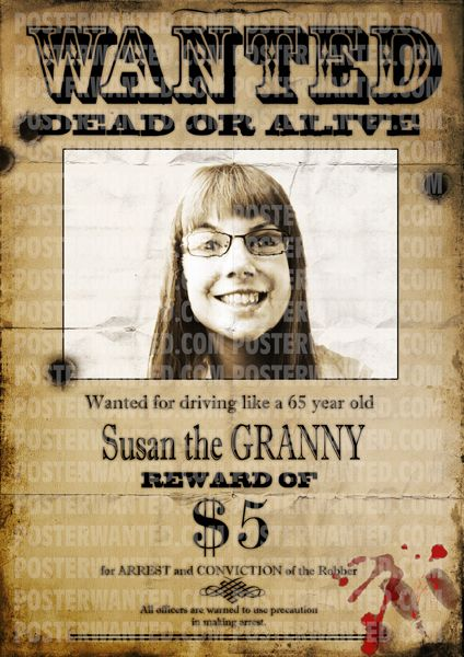 Create wanted poster with your selected photo, reward amount and ...