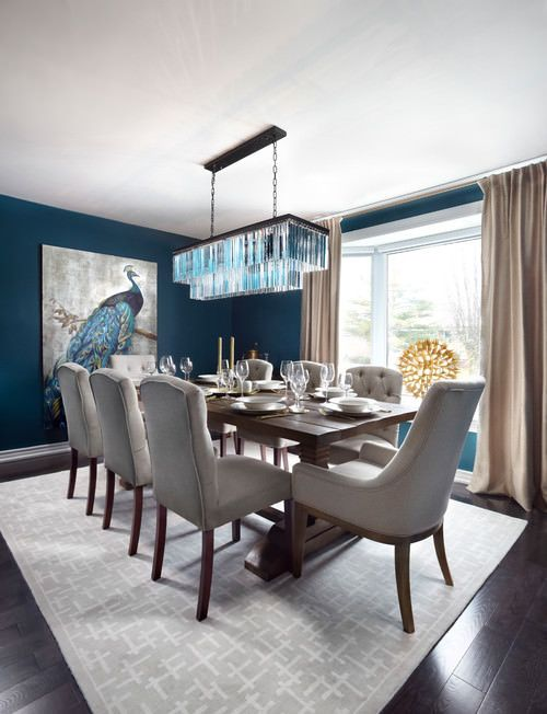 20 Blue Dining Room Ideas Photos Transitional Dining Room Decor Transitional Style Dining Room Transitional Dining Room