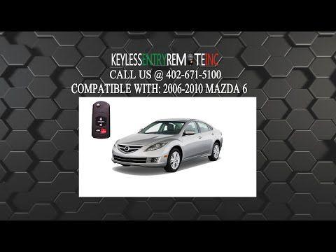 How To Change A 2009 2013 Mazda 6 Key Fob Remote Battery Key Fob Programming Instructions Mazda Fobs Key Fob