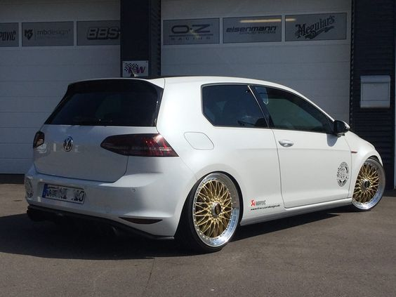 akrapovic vw golf 7 gti bbs super rs tuning tvw 2 golf. Black Bedroom Furniture Sets. Home Design Ideas