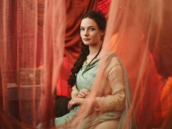 The Red Tent | Rebecca Ferguson as Dinah. Image courtesy of Showcase
