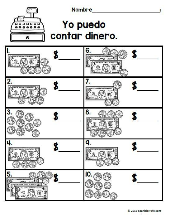 2nd Grade Math In Spanish November Hojas De Matematicas Segundo Noviembre Spanish Profe Spanish Math Education Math Math Lessons