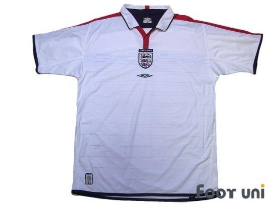 England Euro 2004 Home Reversible Shirt In 2020 Retro Football Shirts Vintage Football Shirts England Football Shirt