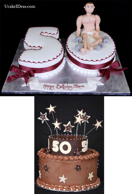 Cake Ideas 50th Birthday And Cake Designs On Pinterest