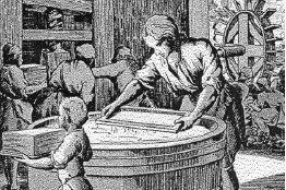Resultado de imagen de historia del papel en la peninsula iberica