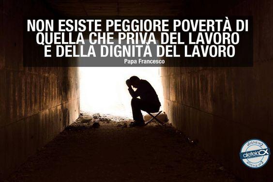 La peggiore povertà.....
