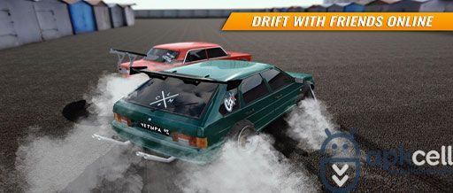 Russian Car Drift V1 6 Mod Apk Para Hileli Araba Yarisi Oyunlar Araba