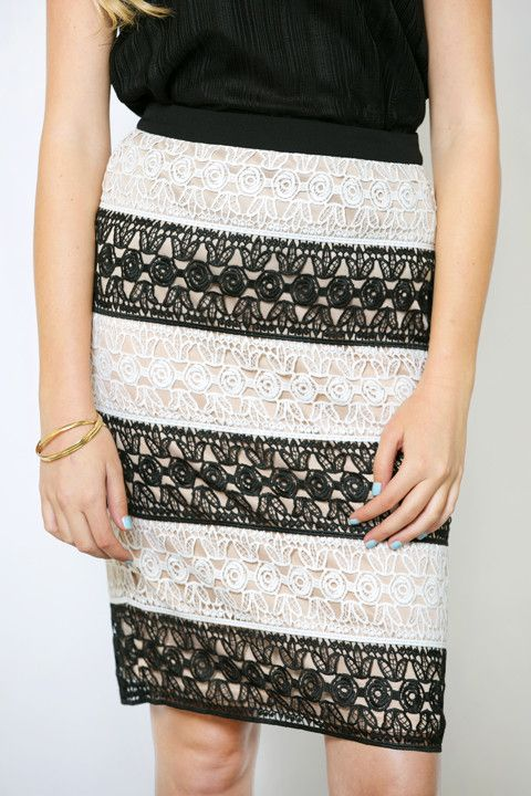 Neiva Lace Party Skirt