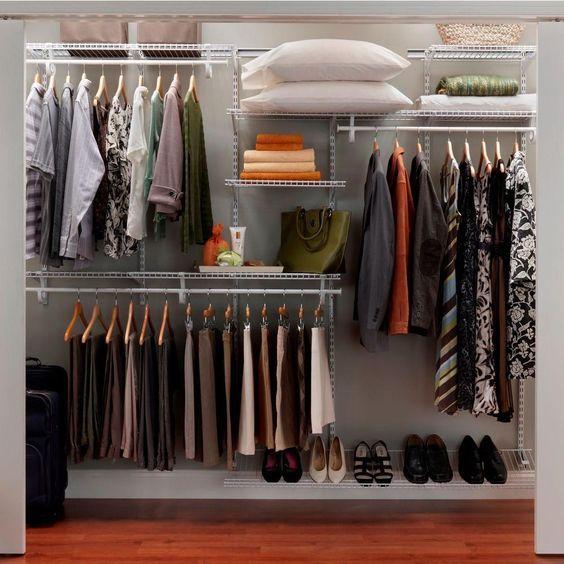 Fabulous Diy Wardrobe Organizers Ideas Home Depot Closet Closet